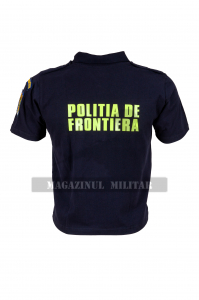 Tricou polo inscriptionat, cu emblema (F)2