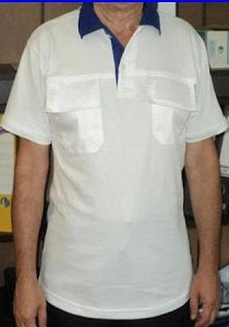 Tricou polo inscriptionat (F) [0]