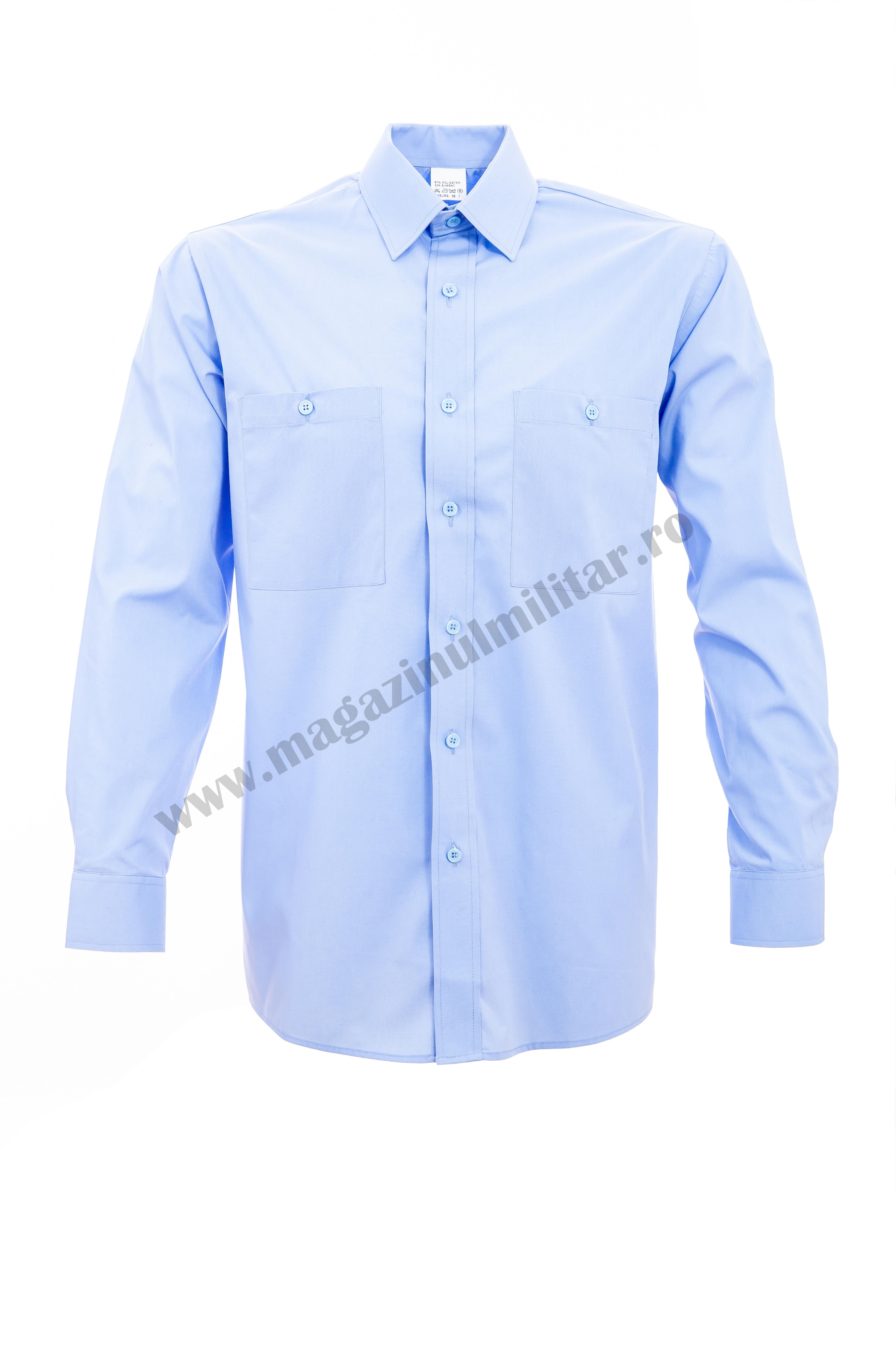 Camasa bleu, maneca lunga, barbati 0