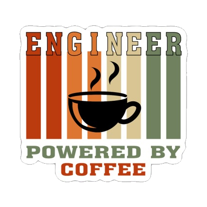 Engineer powered by coffee [1]