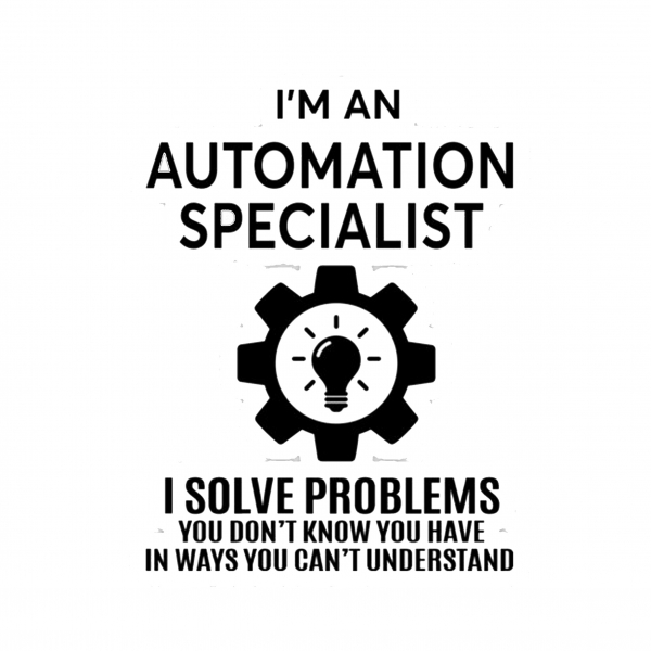 Automation Specialist 1