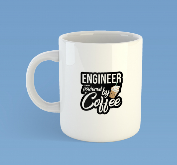 Engineer powered by coffee 0