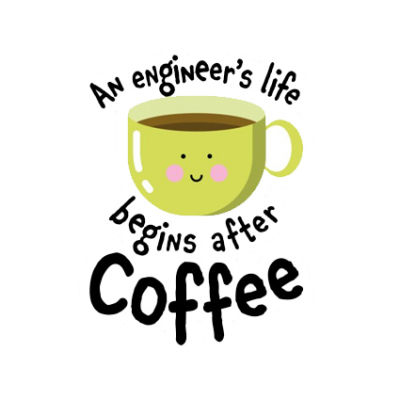 An engineer's life begins after coffee1