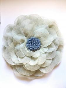 Floare uriasa, diametru 60 cm, gri deschis3