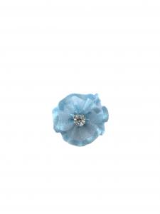 Flare organza albastru deschis (2cm)0