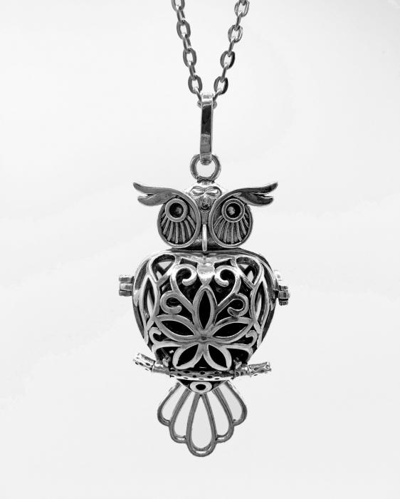 Colier aromaterapie Magic Owl [0]