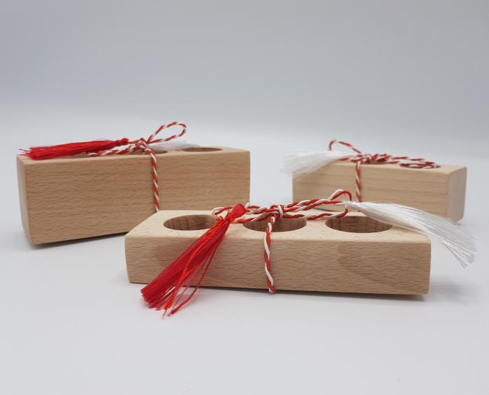Set Magic Flowers + CADOU 4 Suporturi din lemn [6]