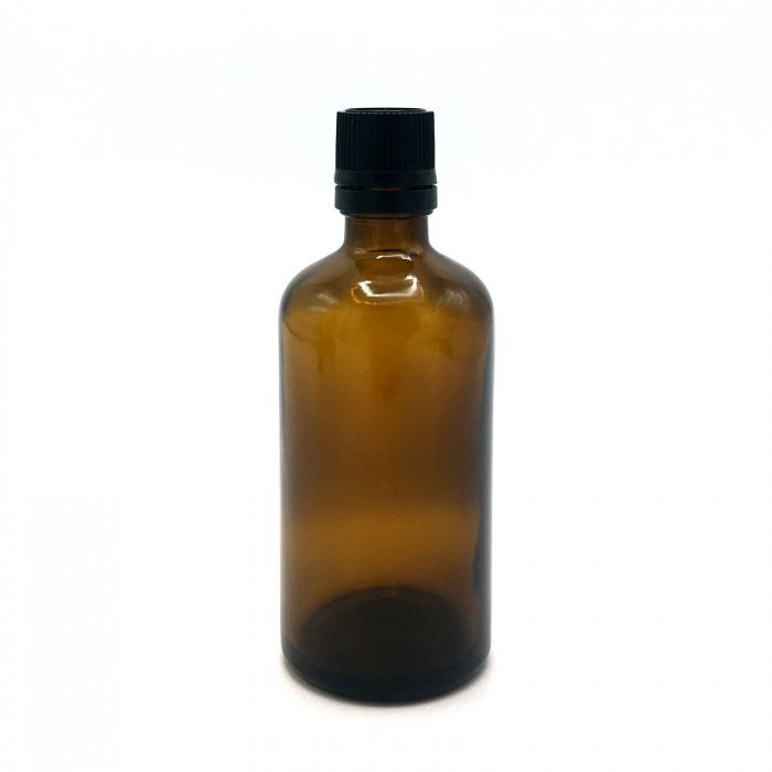 Recipient din sticla bruna, 100 ml [0]