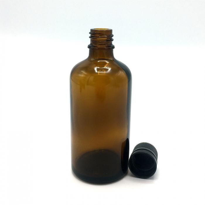 Recipient din sticla bruna, 100 ml [3]