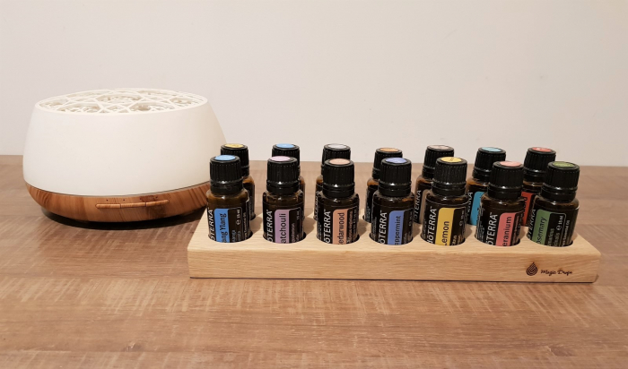 Suport the Essentials, 14 sticlute, stejar [3]