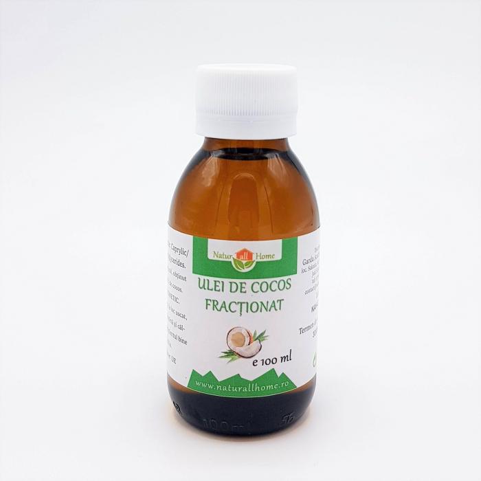 Ulei de cocos fractionat caprilis pentru diluarea uleiurilor esentiale [0]