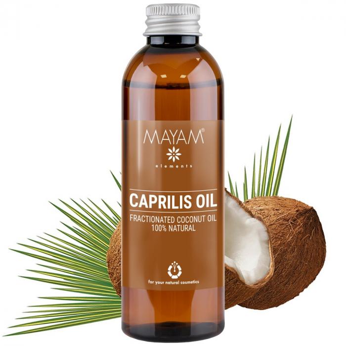 Ulei de cocos fractionat caprilis Mayam pentru diluarea uleiurilor esentiale [0]