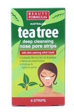 B.F Plasturi Plasturi pentru curatarea porilor cu Extract de Arbore de Ceai, Beauty Formulas 0