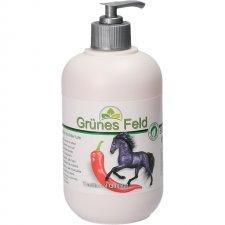 """Grunes Feld Gel Chili """"Puterea Calului"""" cu extract de Ardei Iute 500ml 0"""