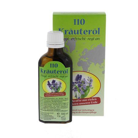 Ulei Terapeutic 110 Plante Medicinale Krauterol, 100ml 0