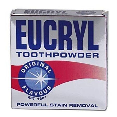Pudra pentru albit dintii Eucryl Original 50g0