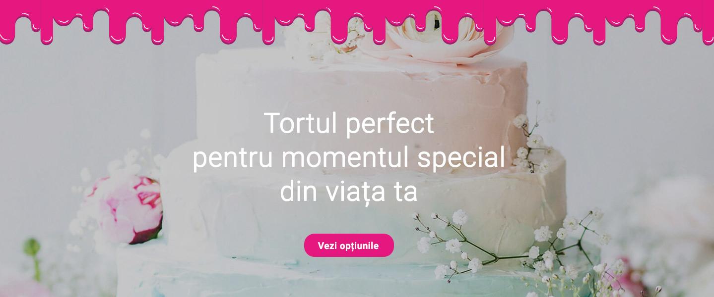 Tortul perfect pentru momentul special din viata ta