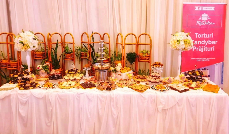 candybar prajituri nunta baia mare