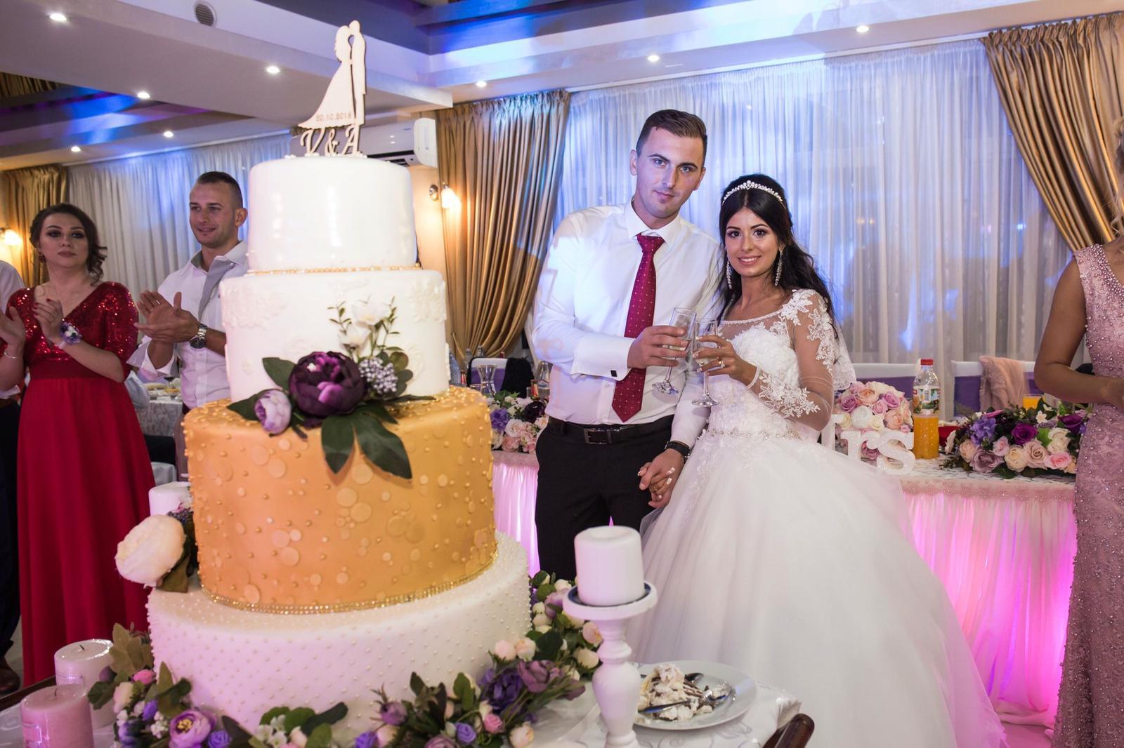 Tort nunta Seneca - Vlad si Andra Baia Mare MaiDulce