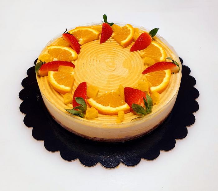 Tort raw vegan cu mango 0
