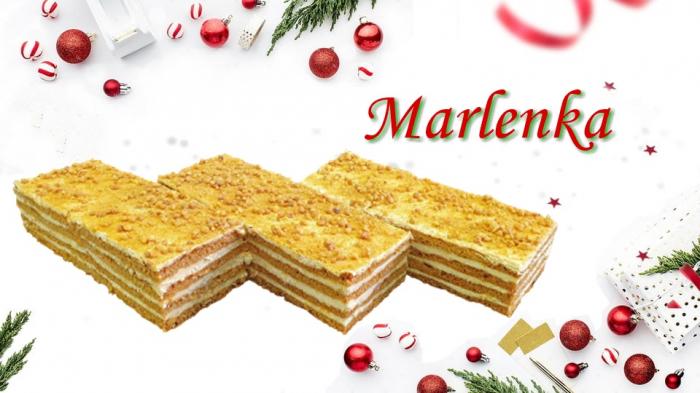 Marlenka - miere, nuci si caramel 0