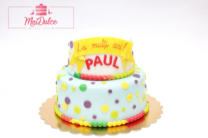 Tort aniversar La Multi Ani, Paul!
