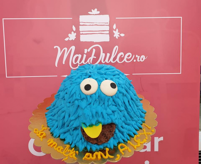 Tort Cookie Monster 0