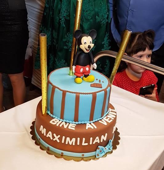 Tort de botez Mikey Mouse 0