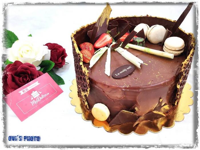 Tort Fantezie ciocolata 1.5 kg