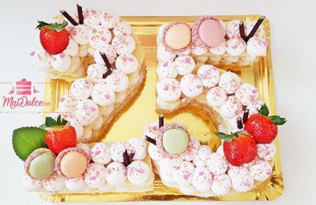 Tort biscuit number cake