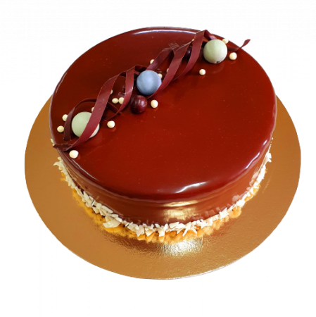 Tort glazurat cu ciocolata0