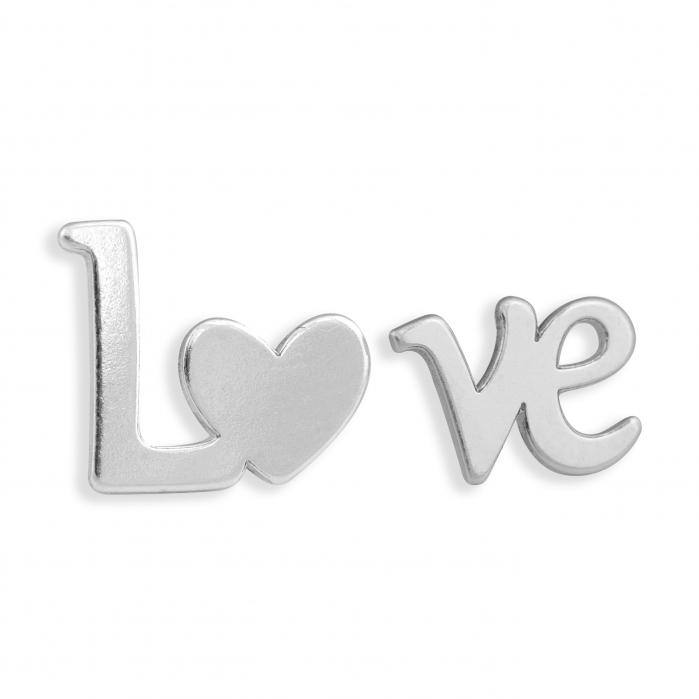 Cercei argint 925 Love [0]