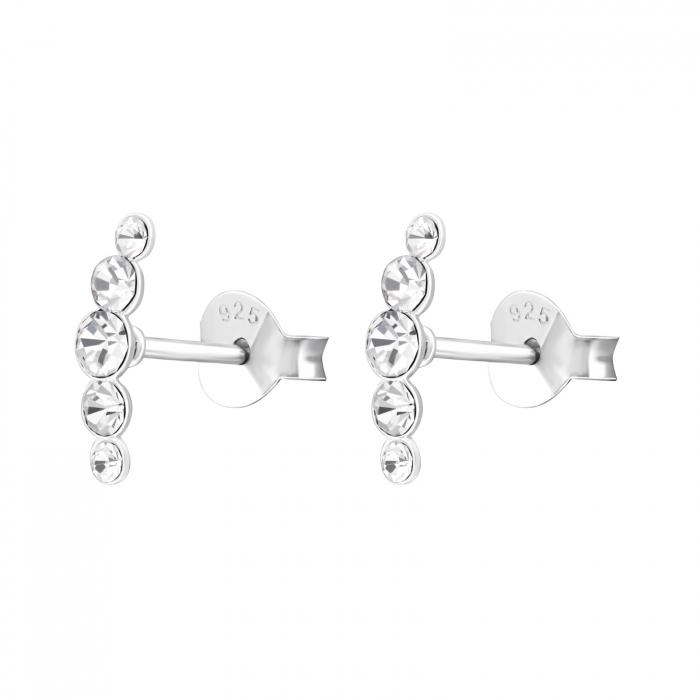CERCEI ARGINT DIAMOND ROMANCE [1]