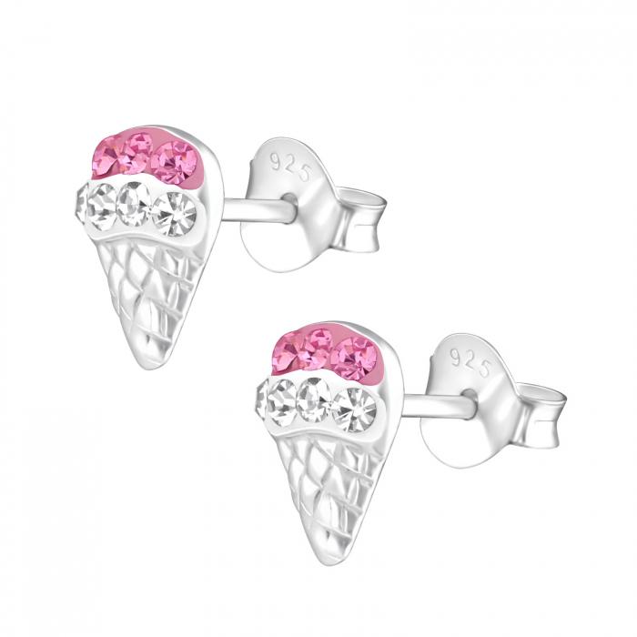 CERCEI ARGINT PINK ICE CREAM [1]