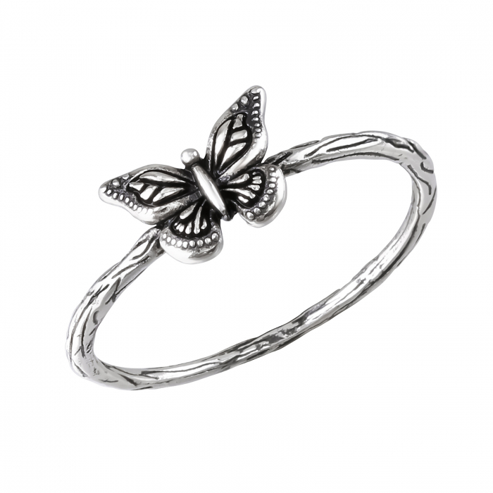BUTTERFLY SILVER RING [0]