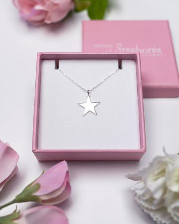 LANTISOR ARGINT 925 STAR LOVE - FOR HER [2]