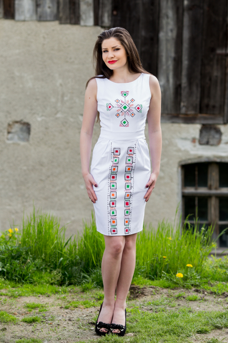 Rochie din bumbac Paradise [3]