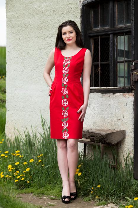 Rochie din bumbac Nufila [2]