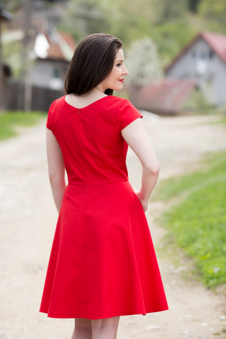 Rochie din bumbac Irina [3]