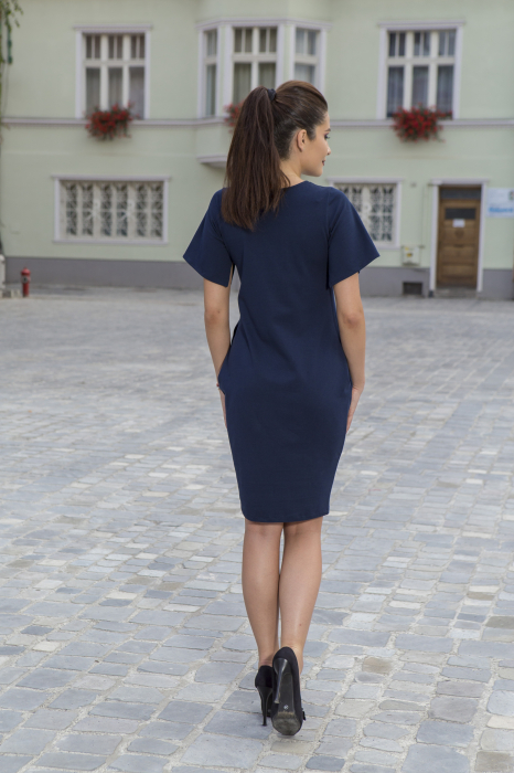 Rochie din bumbac pictata manual Numba [3]