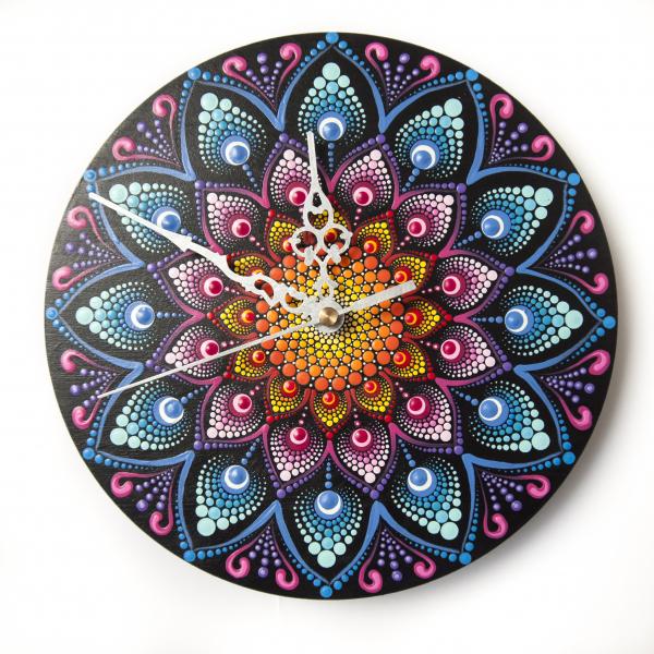 Ceas Mandala decorativ, pentru perete [0]