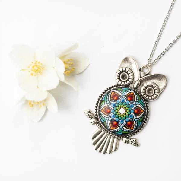 Pandantiv Mandala Magic Owl [9]