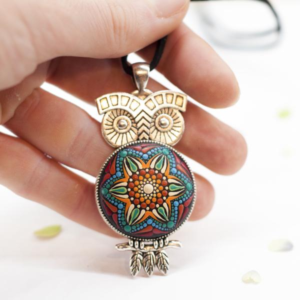 Pandantiv Mandala Magic Owl [3]