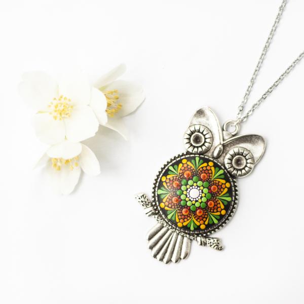 Pandantiv Mandala Magic Owl [0]