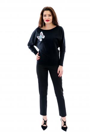 Bluza din bumbac elastic Eduarda [2]