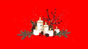 Centru de masa PERSONALIZABIL pictat manual Christmas [6]