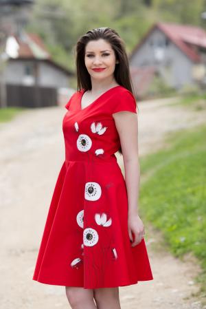 Rochie din bumbac Irina [2]