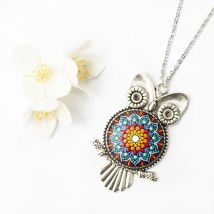 Pandantiv Mandala Magic Owl [7]