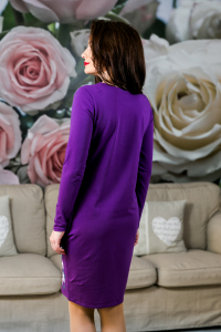 Rochie din bumbac pictata manual Onelya [3]
