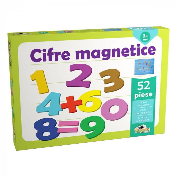 Cifre magnetice 0